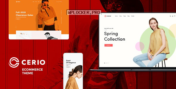 Cerio v1.0.0 – Fashion WooCommerce WordPress Theme