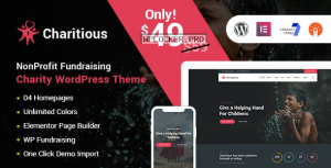 Charitious v2.7 – NonProfit Fundraising Charity Theme