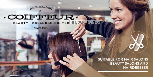Coiffeur v5.4 – Hair Salon WordPress Theme