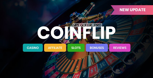 Coinflip v1.5 – Casino Affiliate & Gambling WordPress Theme