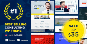 Consulting v5.1.7 – Business, Finance WordPress Theme