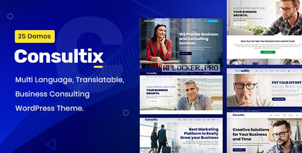 Consultix v2.1.7 – Business Consulting WordPress Theme