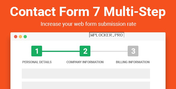 Contact Form Seven CF7 Multi-Step Pro v2.5.4