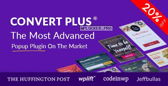 ConvertPlus v3.5.13 – Popup Plugin For WordPress