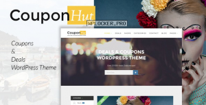 CouponHut v3.0.3 – Coupons and Deals WordPress Theme