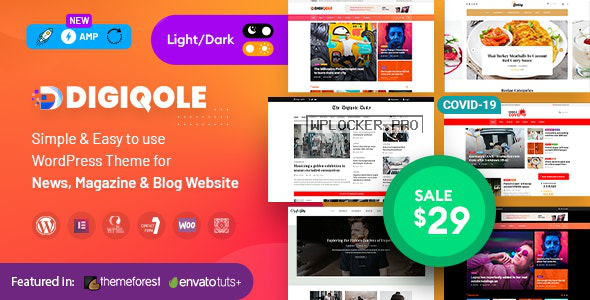 Digiqole v1.4.6 – News Magazine WordPress Theme