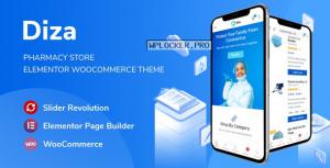 Diza v1.1.1 – Pharmacy Store Elementor WooCommerce Theme