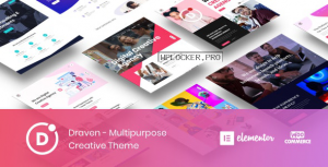 Draven v1.2.9 – Multipurpose Creative Theme