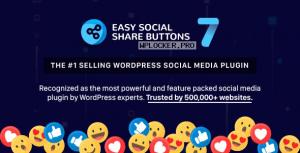 Easy Social Share Buttons for WordPress v7.5