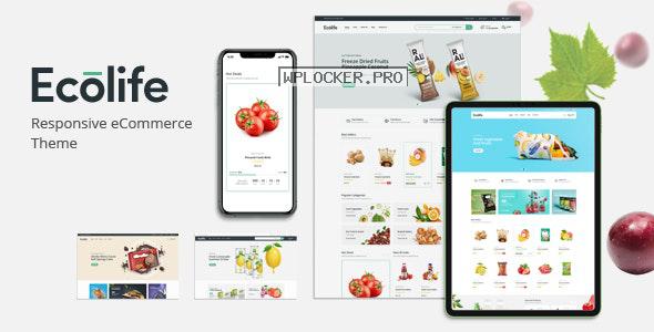 Ecolife v1.0 – Organic WooCommerce WordPress Theme