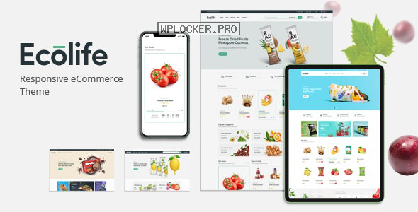 Ecolife v1.0.1 – Organic WooCommerce WordPress Theme