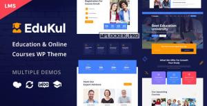 Edukul v1.9 – Online Courses WordPress Theme
