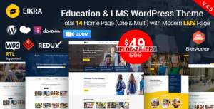 Eikra Education v4.1 – Education WordPress Theme
