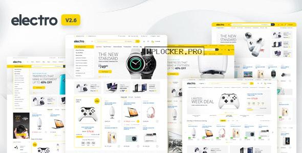 Electro v2.6.1 – Electronics Store WooCommerce Theme