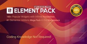Element Pack v5.5.1 – Addon for Elementor Page Builder