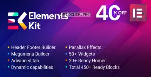 ElementsKit v1.5.9 – The Ultimate Addons for Elementor Page Builder