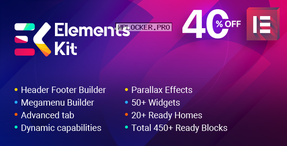 ElementsKit v1.5.9 – The Ultimate Addons for Elementor Page Builder