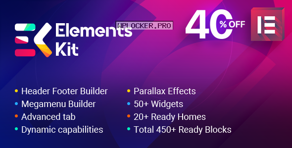 ElementsKit v2.0.0 – The Ultimate Addons for Elementor Page Builder