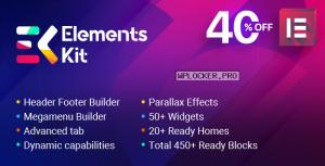 ElementsKit v2.0.1 – The Ultimate Addons for Elementor Page Builder