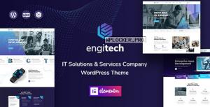 Engitech v1.1.1 – IT Solutions & Services WordPress Theme