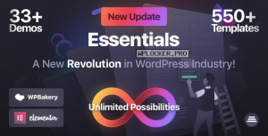 Essentials v1.1.0 – Multipurpose WordPress Theme