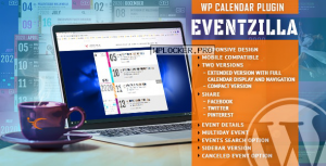 EventZilla v1.3.0 – Event Calendar WordPress Plugin