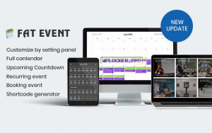 FAT Event v4.4 – WordPress Event and Calendar Booking