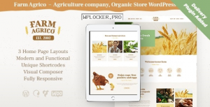 Farm Agrico v1.3.1 – Agricultural Business WordPress Theme