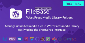FileBase v1.4.0 – Ultimate Media Library Folders for WordPress