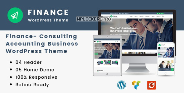 Finance v1.3.2 – Consulting, Accounting WordPress Theme