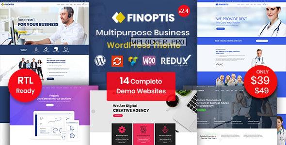 Finoptis v2.4 – Multipurpose Business WordPress Theme