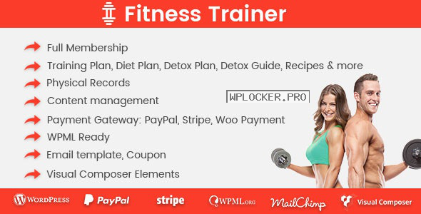 Fitness Trainer v1.4.9 – Training Membership Plugin