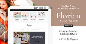 Florian v1.4 – Responsive Personal WordPress Blog Theme