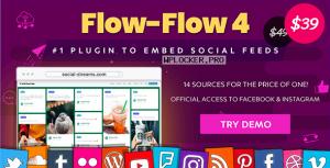Flow-Flow v4.6.6 – WordPress Social Stream Plugin