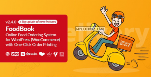 FoodBook v2.4.0 – Online Food Ordering System for WordPress with One-Click Order Printing