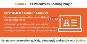 GDPR Solution – Bookly Customer Cabinet (Add-on) v3.1