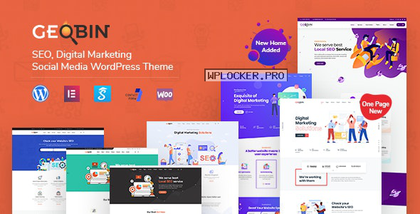 GeoBin v2.5 – Digital Marketing Agency, SEO WordPress Theme