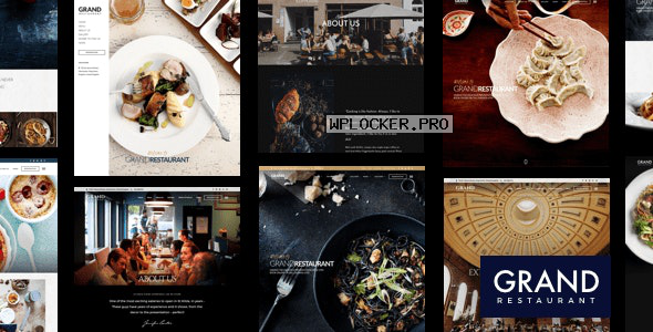 Grand Restaurant v5.9.1 – Restaurant Cafe Theme