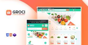 Groci v2.0.5 – Organic Food and Grocery Market WordPress Theme
