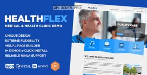HEALTHFLEX v2.0.0 – Medical Health WordPress Theme