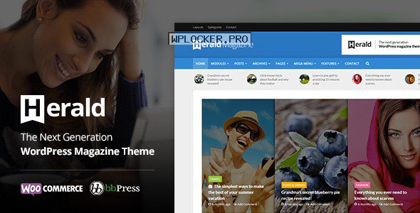 Herald v2.3.1 – News Portal & Magazine WordPress Theme