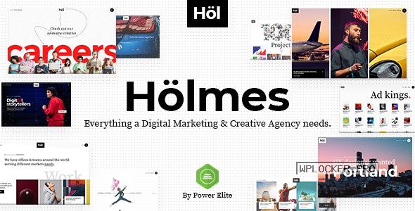Holmes v1.3.1 – Digital Agency WordPress Theme