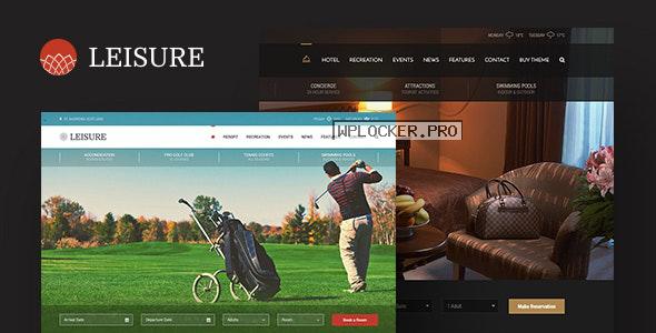 Hotel Leisure v2.1.17 – Hotel WordPress Theme