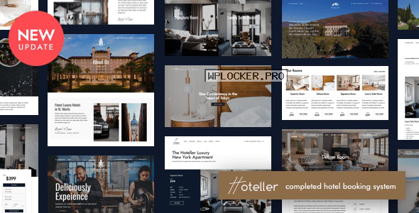 Hoteller v4.8 – Hotel Booking WordPress
