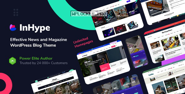 InHype v1.2.2 – Blog & Magazine WordPress Theme