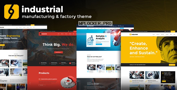 Industrial v1.3.9 – Corporate, Industry & Factory