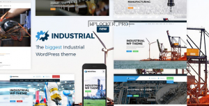 Industrial v1.4.9 – Factory Business WordPress Theme