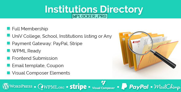 Institutions Directory v1.2.6