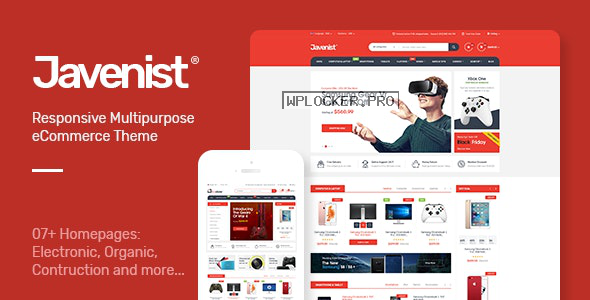 Javenist v1.2.8 – Multipurpose eCommerce WordPress Theme