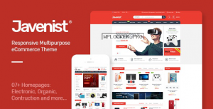 Javenist v1.2.8 – Multipurpose eCommerce WordPress Theme